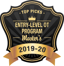 Top OT Masters Programs Badge