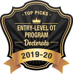 Entry Level OT Doctorate Programs Badge