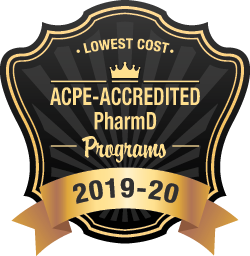 Lowest cost ACPE Accredited Pharm D Badge